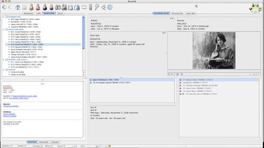 Heredis Mac X.2 - Display