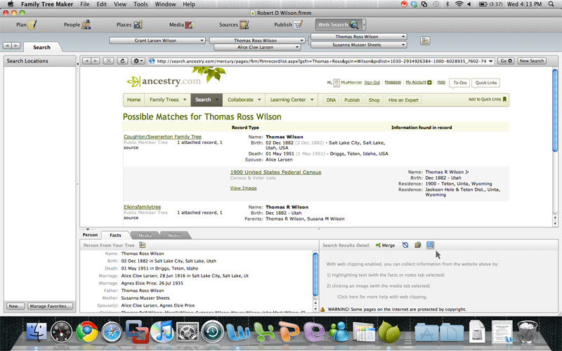 Genealogy software mac freeware