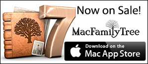 MacFamilyTree 7 - On Sale at the Mac App Store