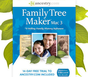 Family Tree Maker for Mac 3