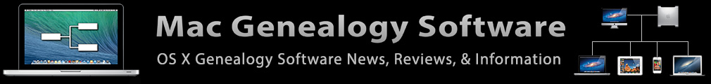 Mac Genealogy Software News, Reviews, & Information