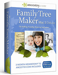 Family Tree Maker 3 Mac - Deluxe
